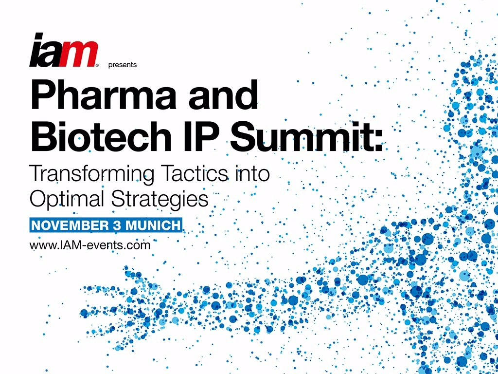 Meet us at the Pharma & Biotech IP Summit!