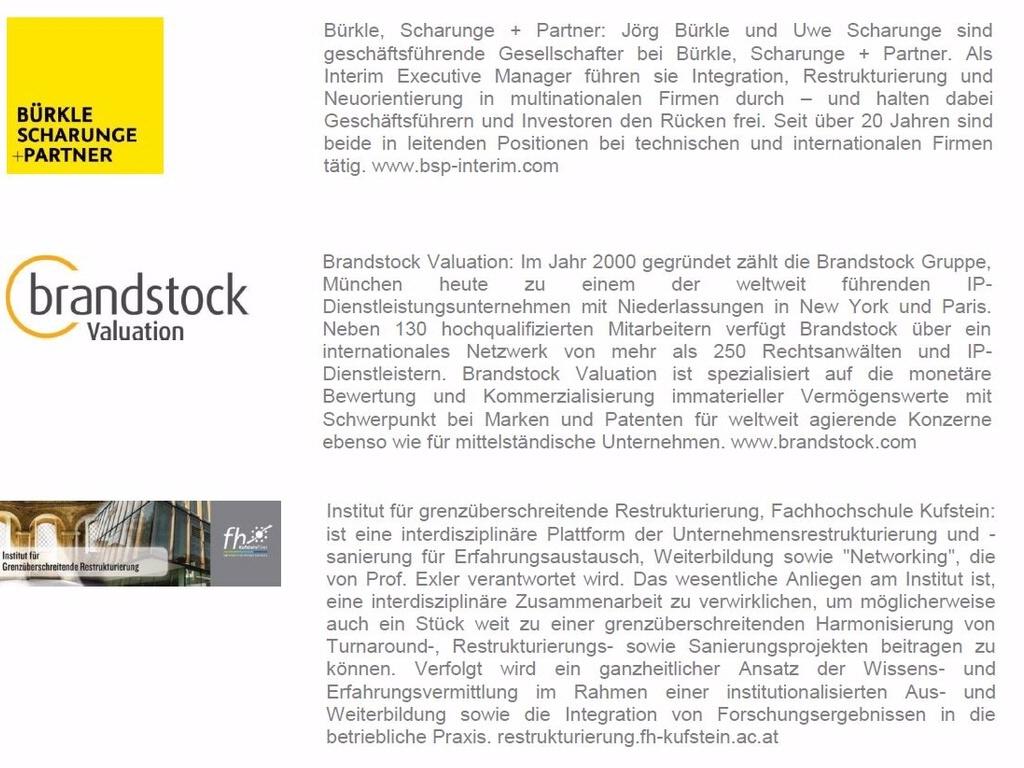 Workshop: Die Rolle der Marke in der Unternehmenskrise
