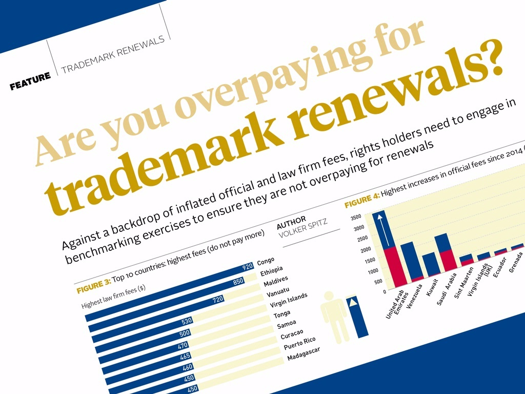 Are you overpaying for trademark renewals?